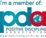Positive parenting + discipline coach badge