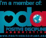 Positive parenting + discipline coach badge
