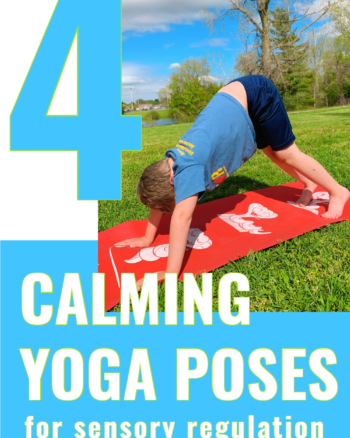 4 calming yoga poses for sensory regulation