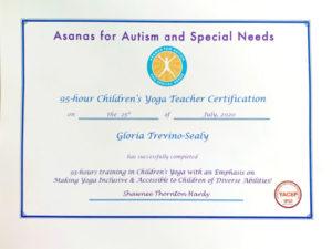95hr CYT certificate